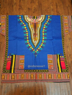 Dashiki Blue, Yellow