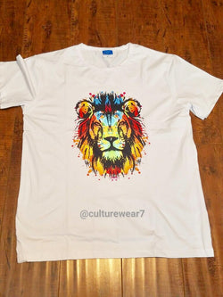 Lion Colorful Men's T-Shirt