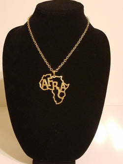 Africa Word Pendant & Necklace