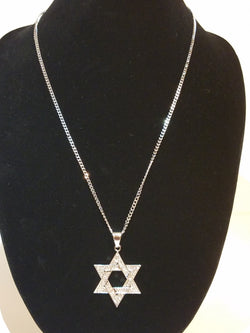 Star of David Necklace & Small Pendant