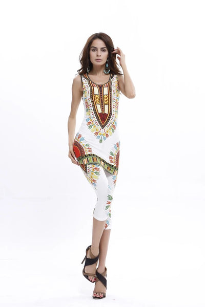 Dashiki Set White