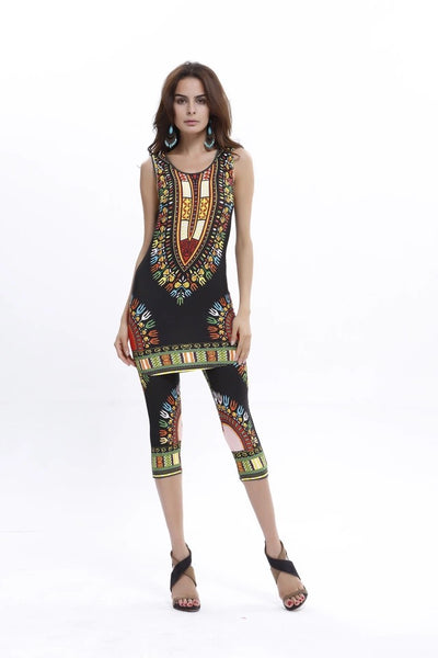 Dashiki Set Black