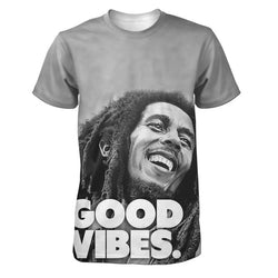 Bob Marley Good Vibes Men's T-Shirt