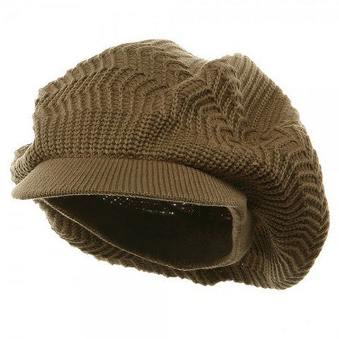 Rasta Hat Light Brown #8
