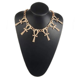 Ankh Choker Necklace