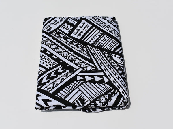 Headwrap Black & White