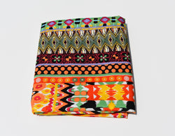 Headwrap Orange, Green, Yellow