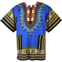 Dashiki Blue & Black