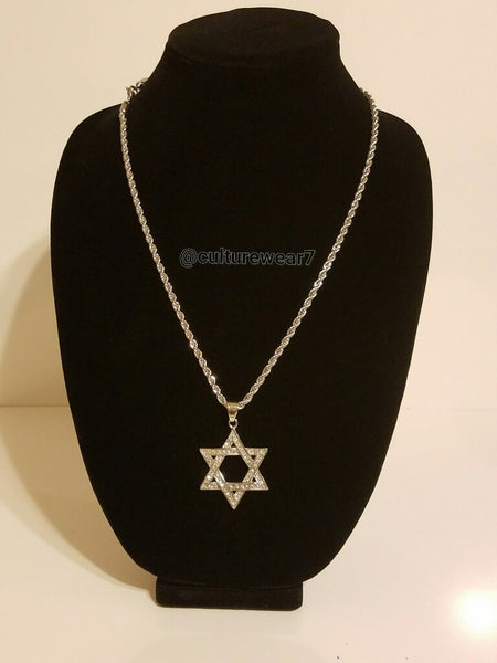 Star of David Chain & Pendant