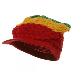 Rasta Hat Red, Gold, Green #20