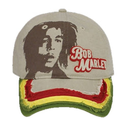 Bob Marley Cap with Picture Beige