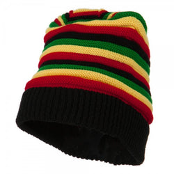 Rasta Tam Black/ Red, Gold, Green #23