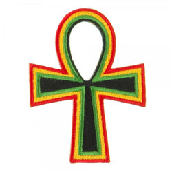 Rasta Ankh Patch