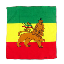 Rasta Lion of Judah Bandana