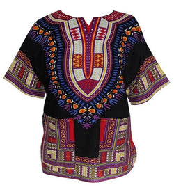 Dashiki Black/ Purple, Yellow