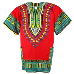 Dashiki Red/ Green, Yellow