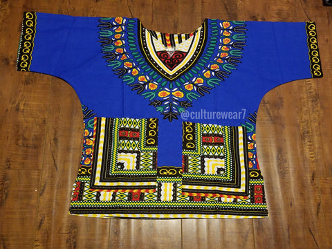 Kids Dashiki Blue