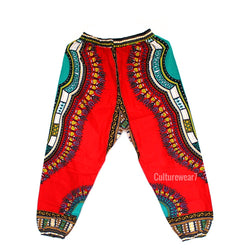 Dashiki Pants Red