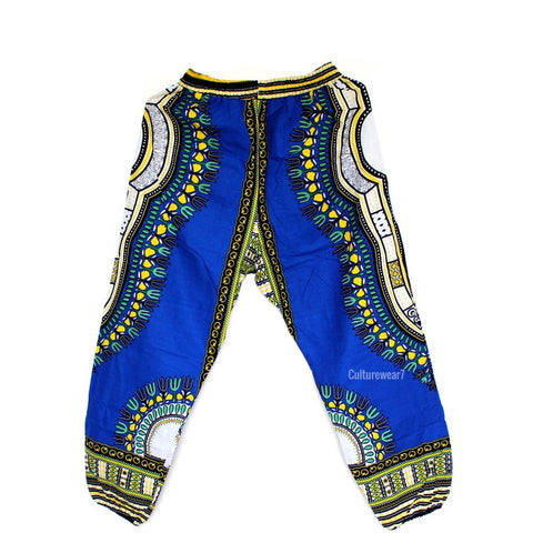Dashiki Pants Blue