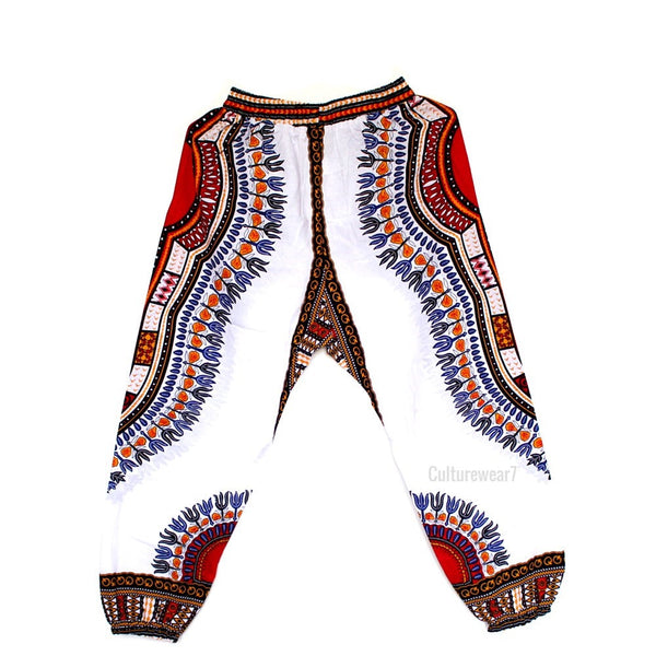 Dashiki Pants White