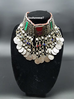 Red/Green Vintage Necklace