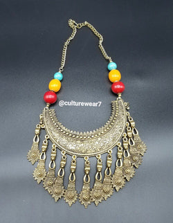 6 Beaded Vintage Necklace