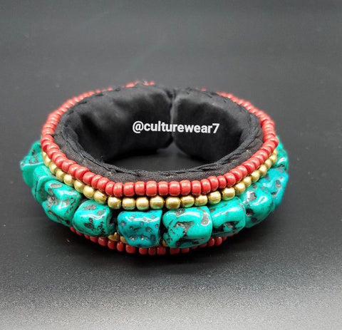African Beaded Tribal Bracelet