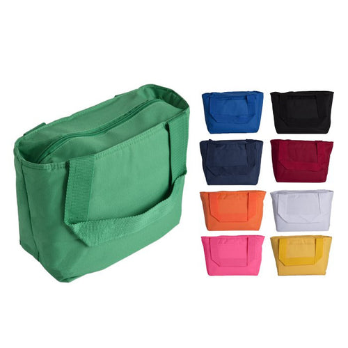 Recycled Fiber Cooler Tote Bag