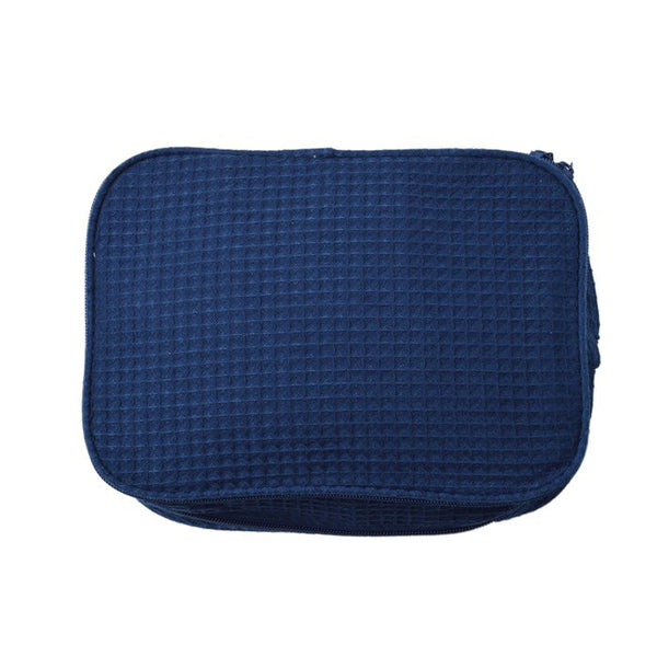 Waffle Cosmetic Toiletry Bag