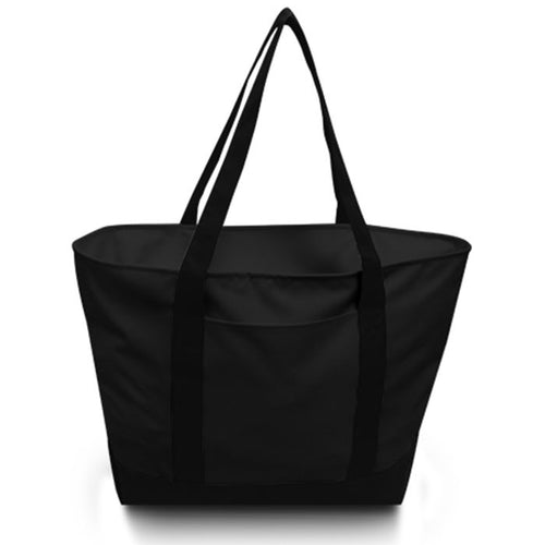 Bay View Giant Zipper Boat Tote Bag