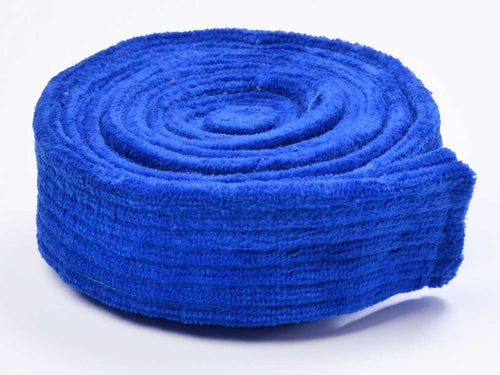 velour replacement belt for adult royal blue
