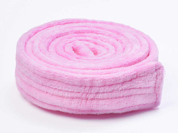 womens bathrobe belt pink