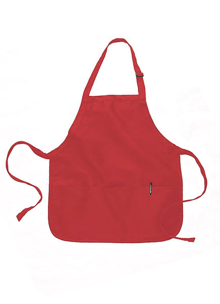 apron for restaurant red