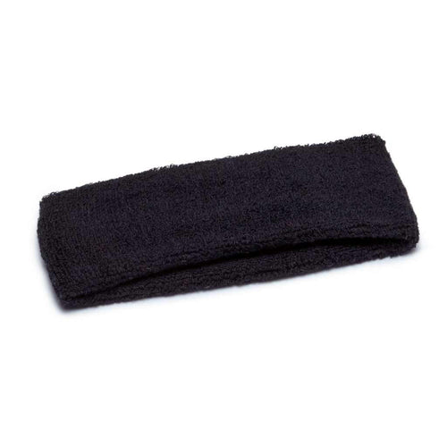 black terry headband