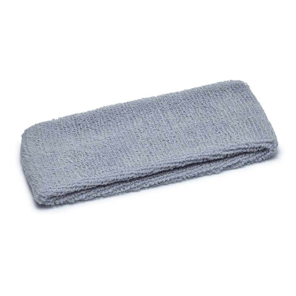 grey terry headband