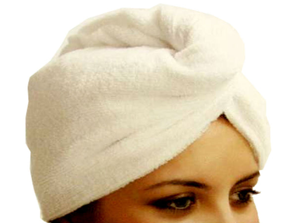 microfiber towel hair beige