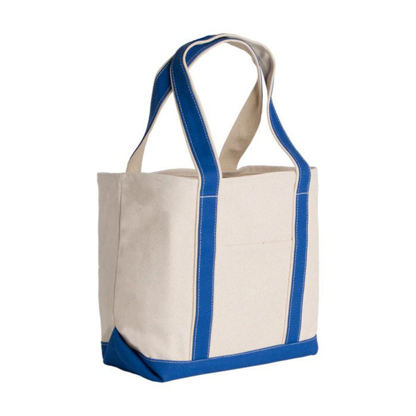 Heavyweight Large Boat Cotton Canvas Tote Bag
