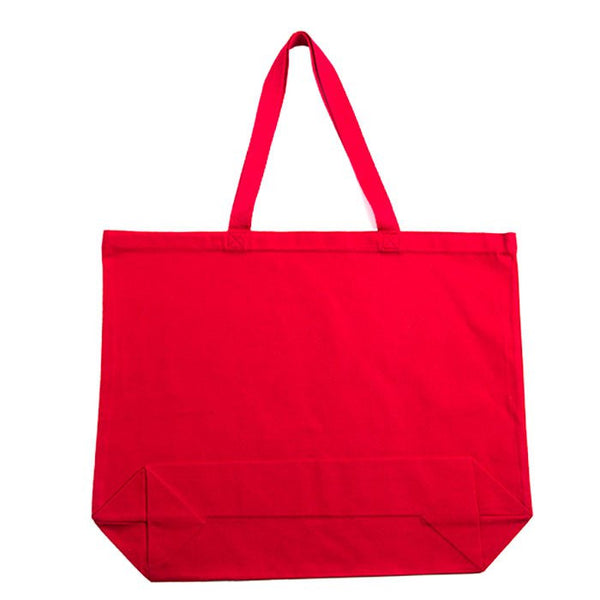 Jumbo Canvas Shoulder Tote Bag