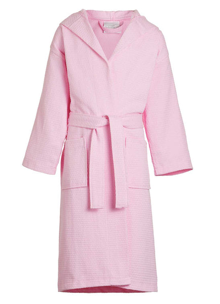 spa robes for girls in pink