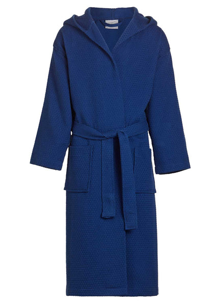 spa robes with hoods Navy blue boys