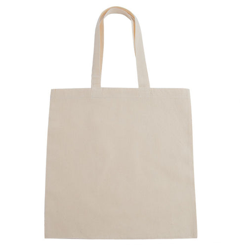 Lightweight Cotton Canvas Budget Tote Bag