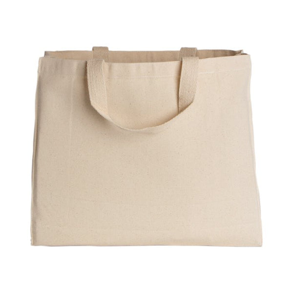 Natural Grocery Canvas Tote Bag