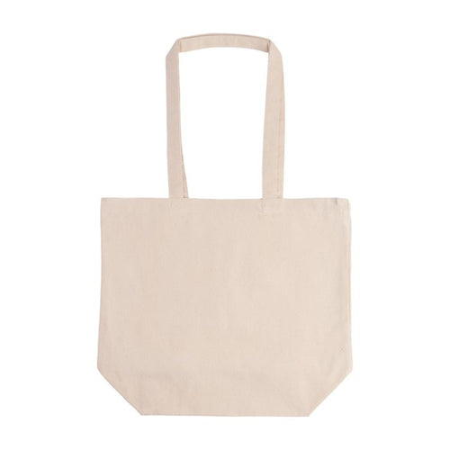 Promotional Cotton Canvas Tote Bag - Natural
