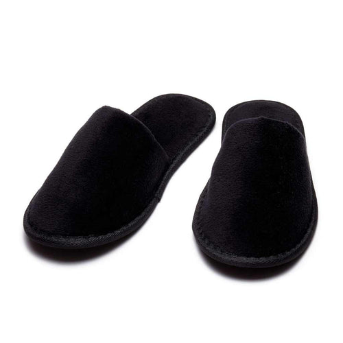 black slippers for women