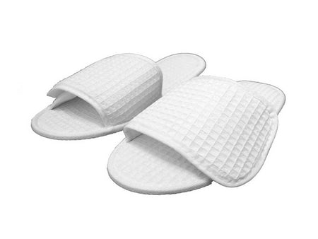 Closed Toe Disposable Slippers - 12 Pieces/Dozen