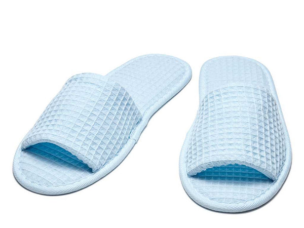 sky blue mens womens slippers open toe