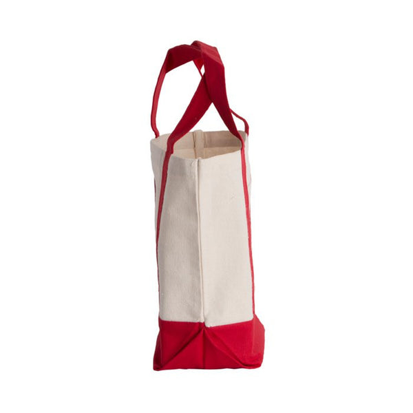 Sturdy Beach Cotton Canvas Tote Bag