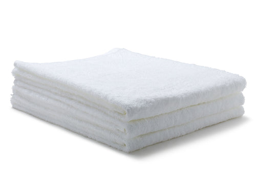egyptian cotton bath towel white