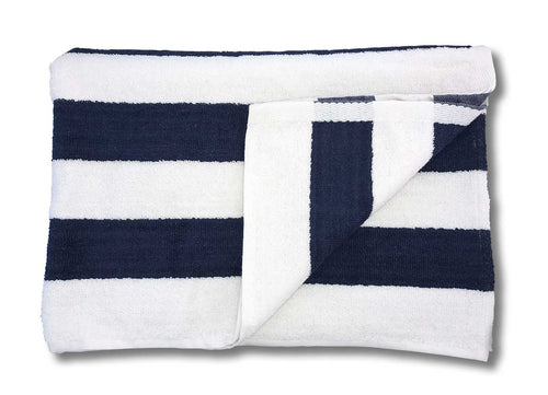 navy blue beach pool towel