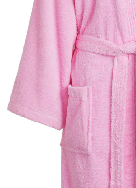 Terry cloth detail pink